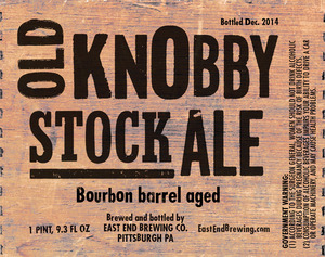 Old Knobby Stock Ale