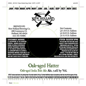 New Holland Brewing Company Oak Aged Hatter