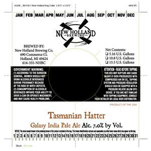 New Holland Brewing Company Tasmanian Hatter