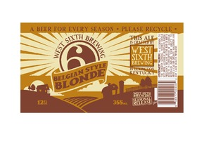 West Sixth Brewing Belgian Style Blonde