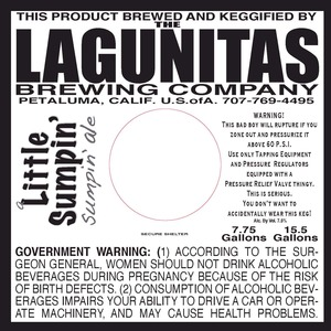 The Lagunitas Brewing Company A Little Sumpin Sumpin
