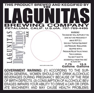 The Lagunitas Brewing Company Daytime A Fractional IPA
