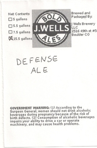 Defense Ale