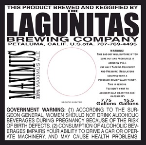 The Lagunitas Brewing Company Maximus