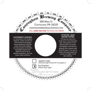 Conyngham Brewing Company Doctoberfest