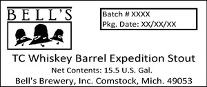 Bell's Tc Whiskey Barrel Expedition Stout