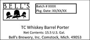 Bell's Tc Whiskey Barrel Porter