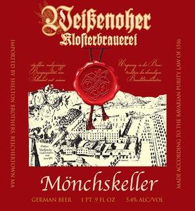 Klosterbrauerei Weissenohe Monchskeller