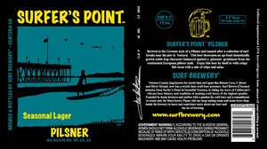 Surfer's Point Pilsner