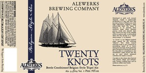 Williamsburg Alewerks Twenty Knots
