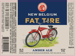 New Belgium Brewing Fat Tire February 2015