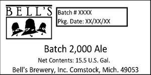 Bell's Batch 2,000