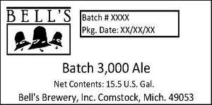 Bell's Batch 3,000