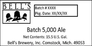 Bell's Batch 5,000