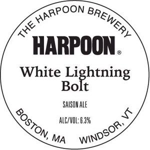 Harpoon White Lightning Bolt