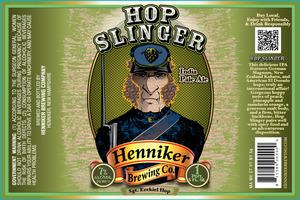 Henniker Brewing Company Hop Slinger