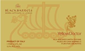 Blackbarrels Yellowdoctor