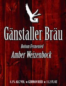 GÄnstaller BrÄu Amber Weizenbock