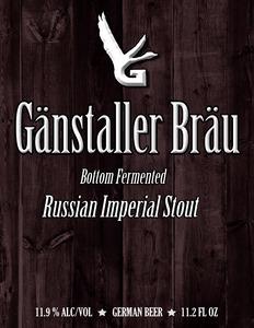 GÄnstaller BrÄu Russian Imperial Stout