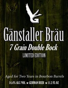 GÄnstaller BrÄu Seven Grain Double Bock