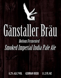 GÄnstaller BrÄu Smoked Imperial India Pale Ale