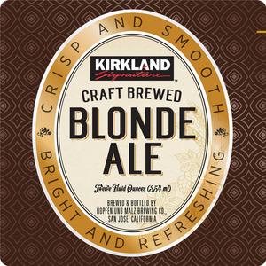 Kirkland Blonde Ale February 2015