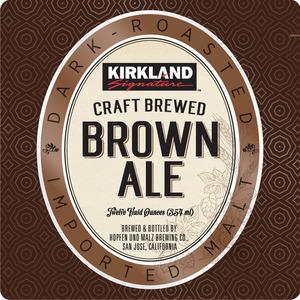 Kirkland Brown Ale February 2015