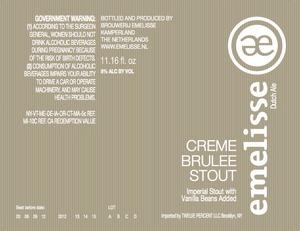 Emelisse Creme BrÛlÉe Stout
