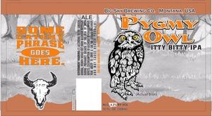 Big Sky Brewing Company Pygmy Owl