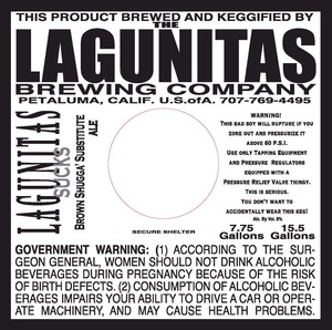 The Lagunitas Brewing Company Lagunitas Sucks February 2015