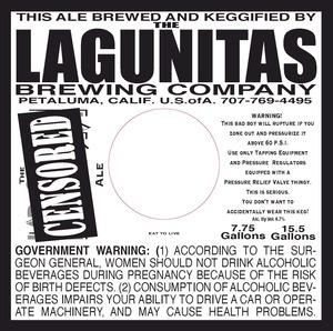 The Lagunitas Brewing Company Censored