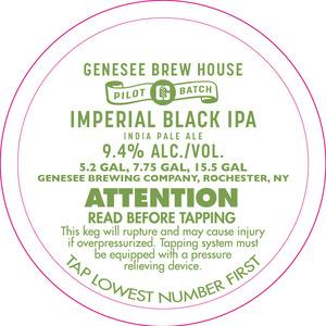 Genesee Brew House Imperial Black IPA