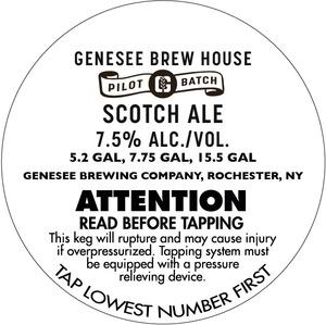 Genesee Brew House Scotch Ale
