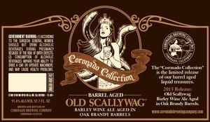 Coronado Brewing Company Old Scallywag Barrel Aged