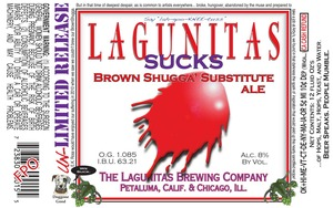 The Lagunitas Brewing Company Lagunitas Sucks