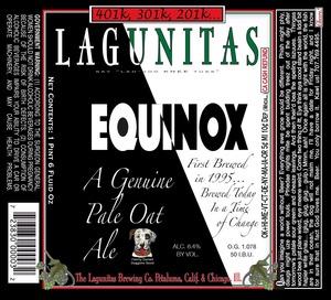 The Lagunitas Brewing Company Equinox