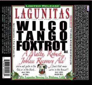The Lagunitas Brewing Company Wilco Tango Foxtrot
