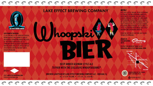 Lake Effect Brewing Company Whoopski Bier