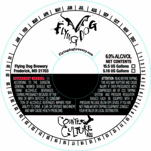 Flying Dog Counter Culture Ale