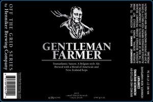 Henniker Brewing Company Gentleman Farmer