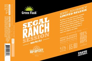 Green Flash Brewing Company Segal Ranch Session