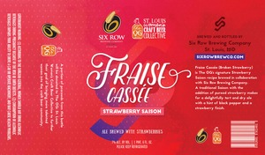 Fraise Cassee Ale Brewed With Strawberries