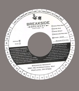 Breakside Brewery Amuse