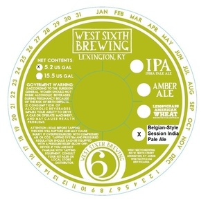 West Sixth Brewing Belgian-style Session India Pale