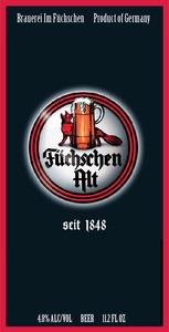 Brauerei Im FÜchschen Altbier February 2015