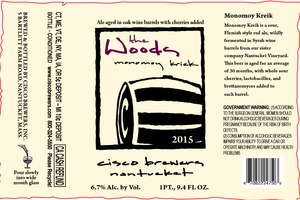 Cisco Brewers Monomoy Kriek