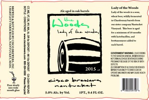 Cisco Brewers Lady Of The Woods