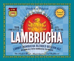 Lambrucha Lambic-kombucha Blended Belgian Ale