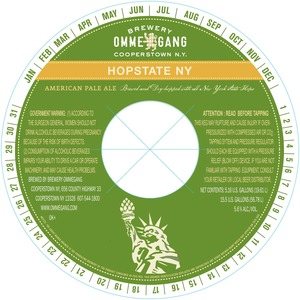 Ommegang Hopstate Ny