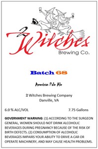 2 Witches Brewing Company Batch 68